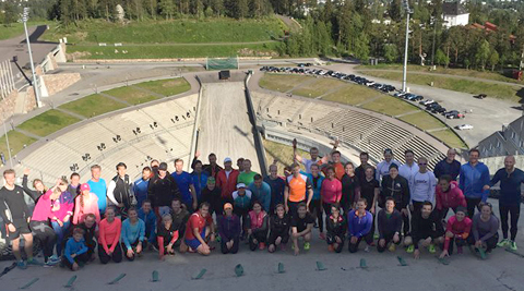 Trappeløp i Holmenkollen