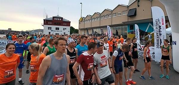 Sommernattsløpet 2018: Løping, latter og løyperekord