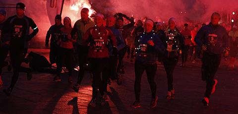 Test Winterrun-løypa i Trondheim