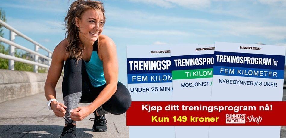 Skreddersydde treningsprogram til 5 og 10 km