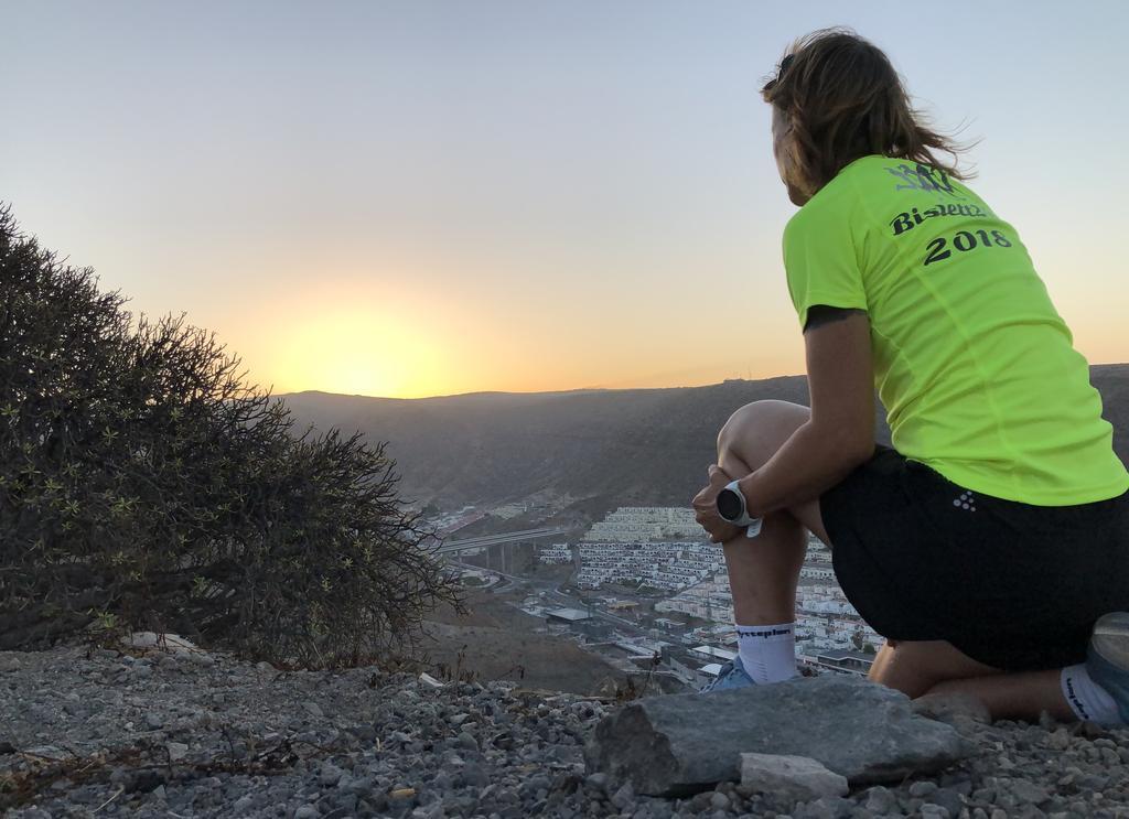 Det å løpe i soloppgang og solnedgang bidrar til indre ro og dype refleksjoner