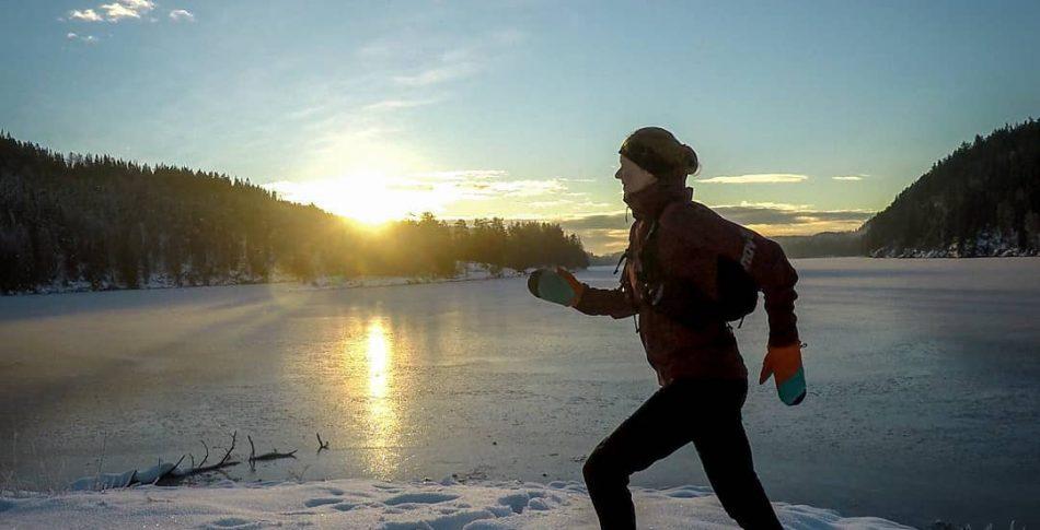 Utendørsløping gjennom vinteren