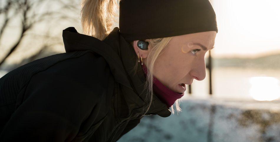 Stor øreplugg-test for løperen